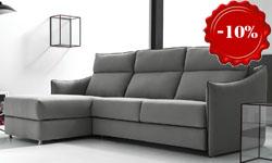 Угловой диван с кроватью Vogue (Италия)