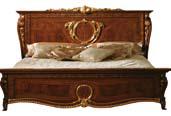 Кровать 180/200*200 L.234 h.130 d.230 - Итальянская спальня Donatello