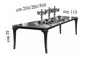 Стол раскл. с 2 вставками (200-250-300 см) - Итальянская гостиная Raffaello