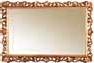 Зеркало к комоду в резной раме (большое), размер  L154  h98  D4 - Итальянская спальня Sinfonia