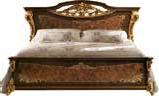 Кровать с деревянной спинкой (сп.м.180/200х200) размер L245 h145 D225 - Итальянская спальня Sinfonia