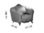 Кресло Кат. А L.135 h.103 d.90 - Итальянская гостиная Tiziano