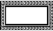 Зеркало большое для гостиной Sipario. Размер: L.205 H.109 D.4