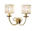 Бра с 2 лампами - Итальянская прихожая Siena avorio