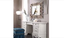 Туалетный столик + Пуф Prestige laccato (Италия) - Цена указана с учетом скидки 30%