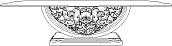 Стол со стеклянной столешницей  L. 254  x  130   H. 81,5 - Итальянская гостиная Vittoria