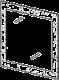 Зеркало - Итальянская спальня Prisma (черный лак)