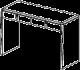Туалетный столик  - Итальянская спальня Prisma (черный лак)