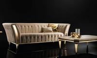 3-х местный диван Diamante, размер 235х96х76h, обивка ткань кат.B