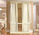 Шкаф 3 ств.  без зеркал, артикул 152х65х242, размер 198х65х242- Спальня Treviso avorio (frassino) фабрики Camelgroup