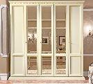 Шкаф 5 ств.  без зеркал, артикул 143AR5.01FR, размер 244х65х242- Спальня Treviso avorio (frassino) фабрики Camelgroup