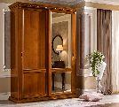 Зеркала для шкафа-купе MAXI, артикул 143ARS.04VE, размер 84x4x140/55- Спальня Treviso avorio (frassino) фабрики Camelgroup