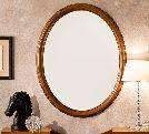 Зеркало овальное, артикул 143SPE.01CI, размер 68x6x95- Спальня Treviso фабрики Camelgroup