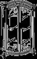 Витрина 2-х дверная, с подсветкой - Итальянская гостиная Prestige laccato