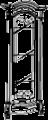 Витрина угловая, с подсветкой - Итальянская гостиная Prestige laccato