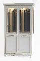 Витрина 2-дверная Ш. 133,3 Г. 47 В. 210 - Итальянская гостиная San Remo Bianco