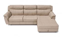Угловой диван с кроватью Alabama (Италия)