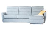 Угловой диван размером 302х165, ткань категории B, матрас 160х195 см, высота матраса 18 см