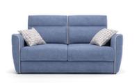 2-х местный диван-кровать Dina Folk, ткань категории B, размер 180х105х107h, матрас 120х195 см, высота матраса 18 см