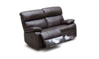 2-местный диван с 2-мя механическими реклайнерами, ткань кат.B, размер L157/101h/80(167)