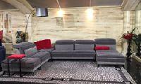 Угловой диван Ghibli (комплектация на фото), размер L229х357х103h