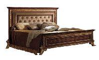 Кровать 180/200*200 с мягким изголовьем - Итальянская спальня Giotto
