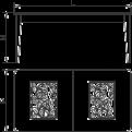 Стол прямоугольный, раздвижной - Итальянская гостиная Fusion