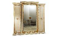 Шкаф 4 дверный малый L.213 h.220 d.69 - Итальянская спальня Leonardo