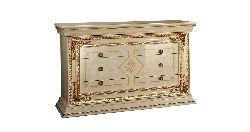 Комод 3 ящика L.140 h.91 d.62 - Итальянская спальня Leonardo