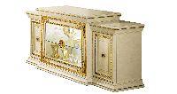 Комод 4 дверный со стекл дверями L.218 h.98 d.62 - Итальянская гостиная Leonardo