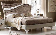 Кровать 160х190 с мягкой спинкой - Итальянская спальня Miro