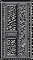 Витрина 2А малая  L. 103 x 45 H. 212 - Итальянская гостиная Nabuco (шпон ясеня)