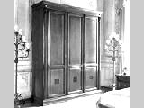 Шкаф с зеркалом 3-х дверный - Итальянская спальня Puccini bianco