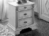 Тумба прикроватная - Итальянская спальня Puccini bianco