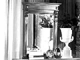 Зеркало с прямым карнизом - Итальянская спальня Puccini bianco