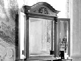 Зеркало с закругленным карнизом - Итальянская спальня Puccini bianco