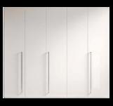 Шкаф, 5 дверей 270 x 60 x 230 - Спальня TREVISO Grey