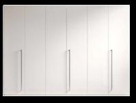 Шкаф, 6 дверей 324 x 60 x 230 - Спальня TREVISO Grey