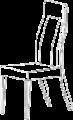 Стул  L. 55  x  50  H. 110   - Итальянская гостиная Prestige