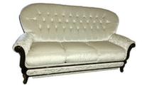 Диван 3-х местный раскладной в ткани, ш/г/в: 204/106/92 см, ширина спального места 132