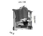 Зеркало к комоду (малое) L.105 h.132 d.9 - Итальянская спальня Tiziano