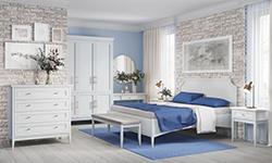 Спальня Bergen white