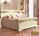 Кровать 160х200, артикул 143LET.02FR, размер 181х217х120- Спальня Treviso avorio (frassino) фабрики Camelgroup