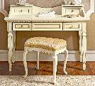 Стол туалетный, артикул 143SCR.01FR, размер 123x46x95- Спальня Treviso avorio (frassino) фабрики Camelgroup