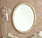 Зеркало овальное, артикул 143SPE.01FR, размер 68x6x95- Спальня Treviso avorio (frassino) фабрики Camelgroup