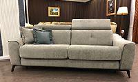 3-х местный диван-кровать, ткань категории B, размер 210х100х112h, матрас 140х195 см, высота матраса 18 см