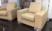 Кресло, обивка натуральная кожа