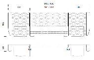 Комплект панелей с подсветкой для кр-ти с прямым изн.  L.186x30H.112 - Итальянская спальня Chanel