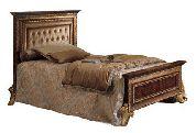 Кровать 110*190 с мягким изголовьем - Итальянская спальня Giotto