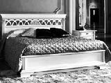 Кровать 160 без изножья (сп.место 160х200) - Итальянская спальня Puccini bianco
